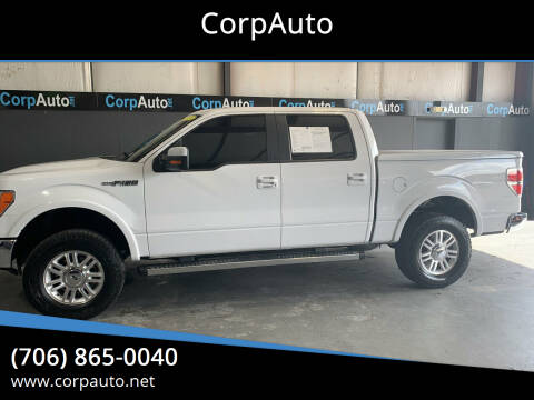 2014 Ford F-150 for sale at CorpAuto in Cleveland GA