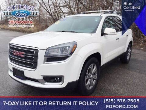 2015 GMC Acadia for sale at Fort Dodge Ford Lincoln Toyota in Fort Dodge IA