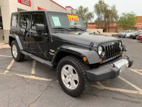 2012 Jeep Wrangler Unlimited for sale at Brown & Brown Wholesale in Mesa AZ
