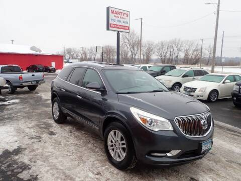 2014 Buick Enclave for sale at Marty's Auto Sales in Savage MN