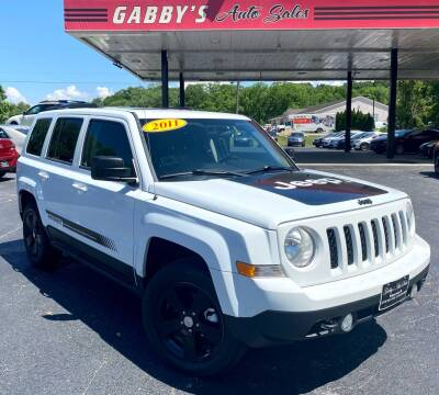 2011 Jeep Patriot for sale at GABBY'S AUTO SALES in Valparaiso IN