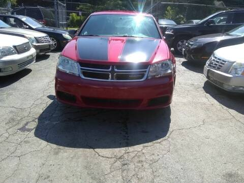 2012 Dodge Avenger for sale at Six Brothers Auto Sales in Youngstown OH