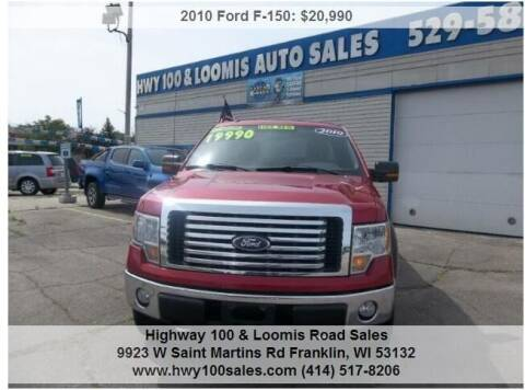2010 Ford F-150 for sale at Highway 100 & Loomis Road Sales in Franklin WI