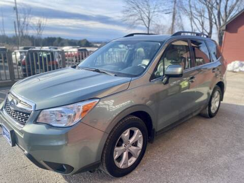 2014 Subaru Forester for sale at Marcotte & Sons Auto Village in North Ferrisburgh VT