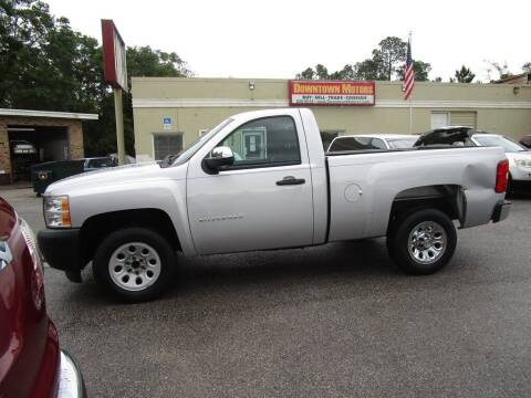 2012 Chevrolet Silverado 1500 for sale at DERIK HARE in Milton FL
