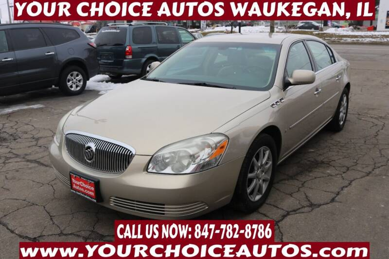 2008 Buick Lucerne for sale at Your Choice Autos - Waukegan in Waukegan IL