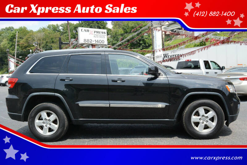 2012 Jeep Grand Cherokee for sale at Car Xpress Auto Sales in Pittsburgh PA