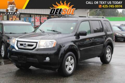 2010 Honda Pilot for sale at Del Sol Auto Sales in Everett WA