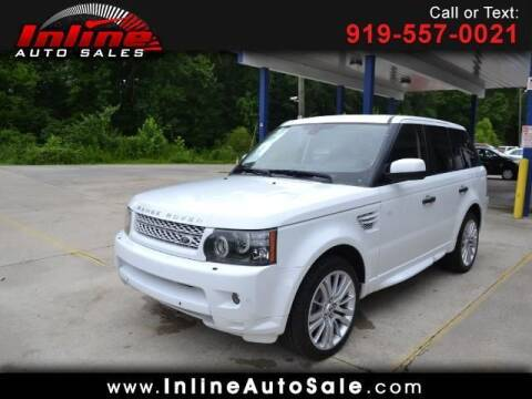 2011 Land Rover Range Rover Sport for sale at Inline Auto Sales in Fuquay Varina NC
