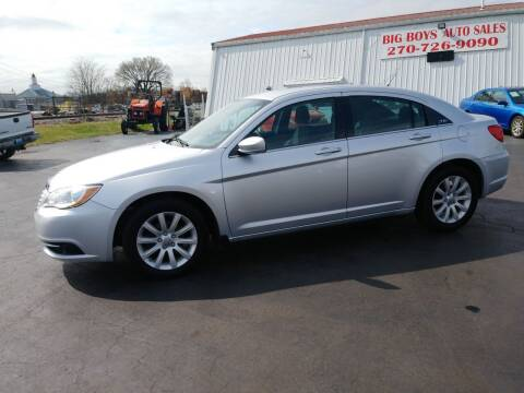 2012 Chrysler 200 for sale at Big Boys Auto Sales in Russellville KY