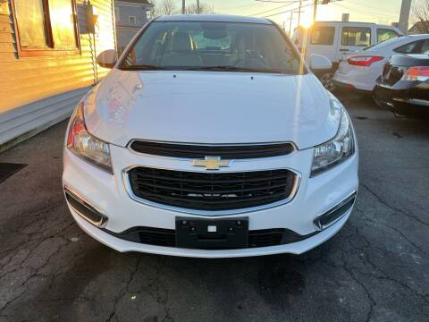 2015 Chevrolet Cruze for sale at Better Auto in South Darthmouth MA