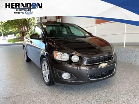 2016 Chevrolet Sonic for sale at Herndon Chevrolet in Lexington SC