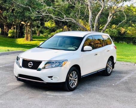 2014 Nissan Pathfinder for sale at Sunshine Auto Sales in Oakland Park FL