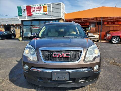 2011 GMC Acadia for sale at North Chicago Car Sales Inc in Waukegan IL