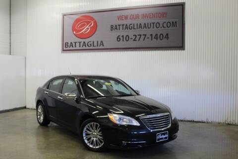 2011 Chrysler 200 for sale at Battaglia Auto Sales in Plymouth Meeting PA