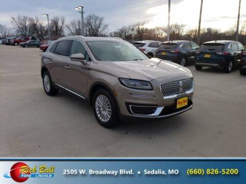 2020 Lincoln Nautilus for sale at RICK BALL FORD in Sedalia MO