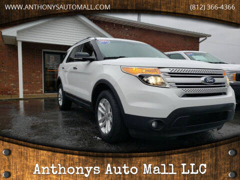2015 Ford Explorer for sale at Anthonys Auto Mall LLC in New Salisbury IN