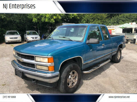 1998 Chevrolet C/K 1500 Series for sale at NJ Enterprises in Indianapolis IN