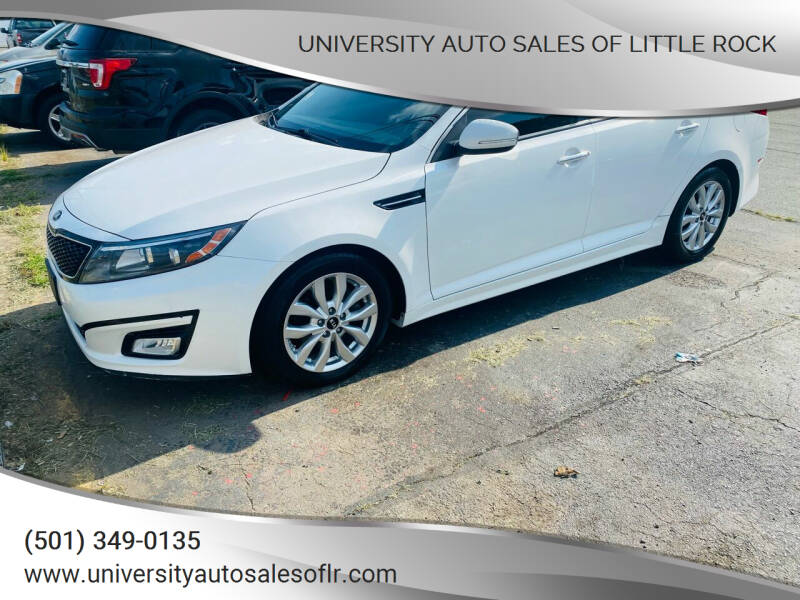 2015 Kia Optima for sale at University Auto Sales of Little Rock in Little Rock AR