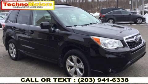 2015 Subaru Forester for sale at Techno Motors in Danbury CT