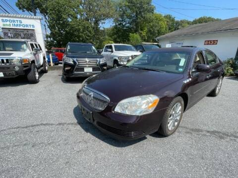 2009 Buick Lucerne for sale at Sports & Imports in Pasadena MD