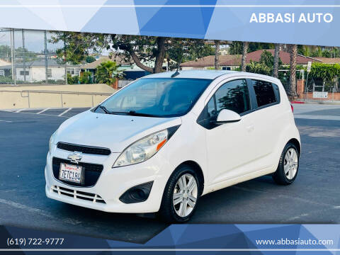 2014 Chevrolet Spark for sale at Abbasi Auto in San Diego CA