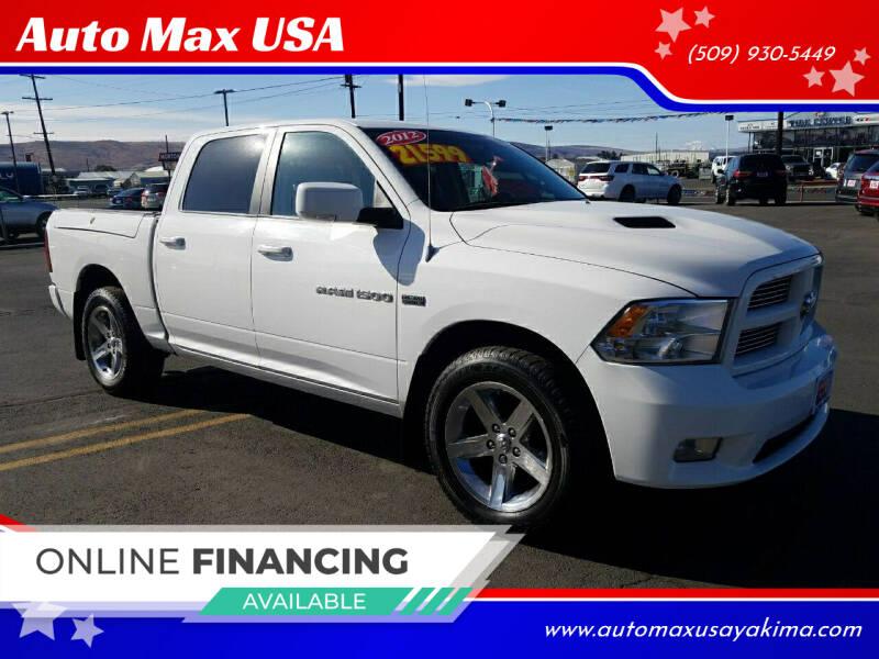 2012 RAM Ram Pickup 1500 for sale at Auto Max USA in Yakima WA