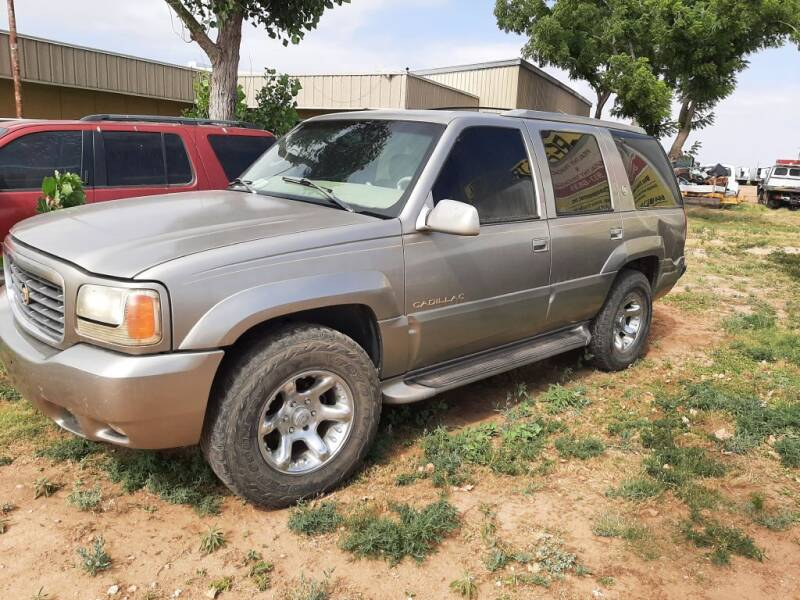 2000 Cadillac Escalade for sale at West Texas Consignment in Lubbock TX