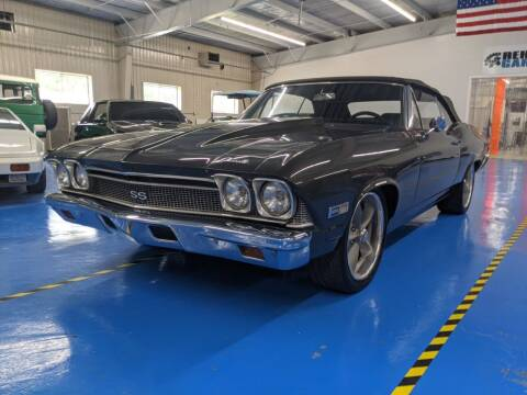 1968 Chevrolet Chevelle for sale at Rehab Garage, LLC in Tomball TX
