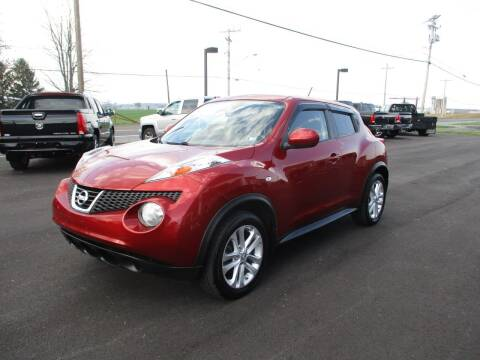 2013 Nissan JUKE for sale at FINAL DRIVE AUTO SALES INC in Shippensburg PA