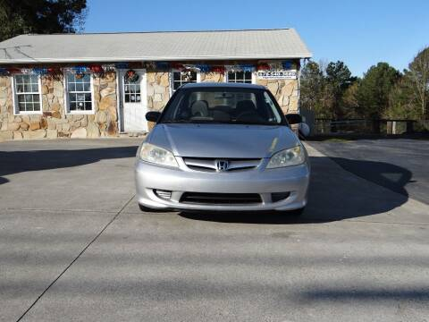 2005 Honda Civic for sale at Flywheel Auto Sales Inc in Woodstock GA