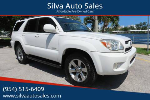 2009 Toyota 4Runner for sale at Silva Auto Sales in Pompano Beach FL