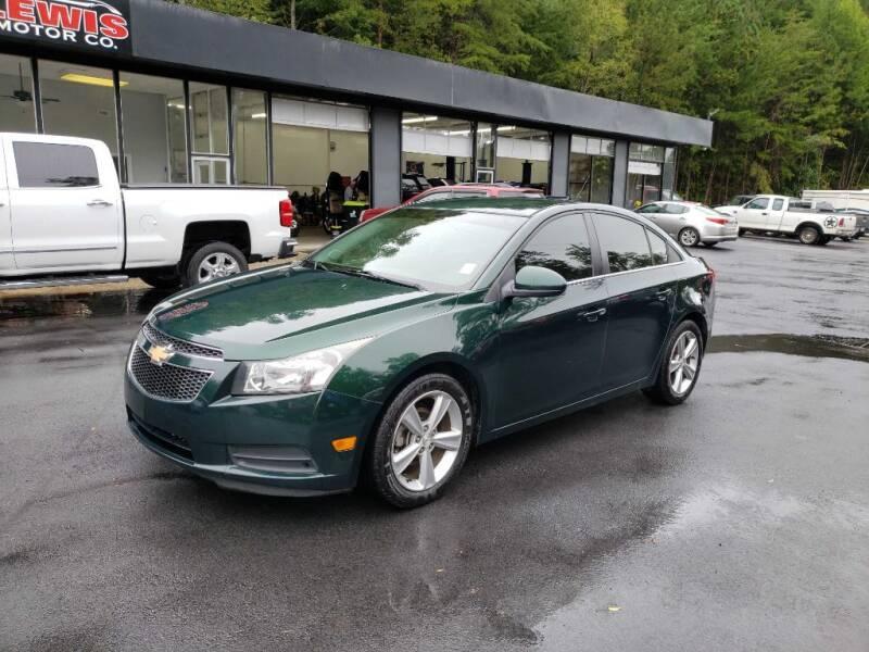 2014 Chevrolet Cruze for sale at Curtis Lewis Motor Co in Rockmart GA