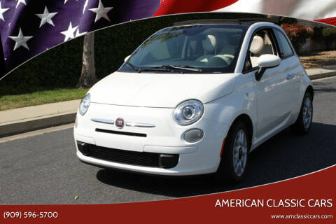 2015 FIAT 500c for sale at American Classic Cars in La Verne CA