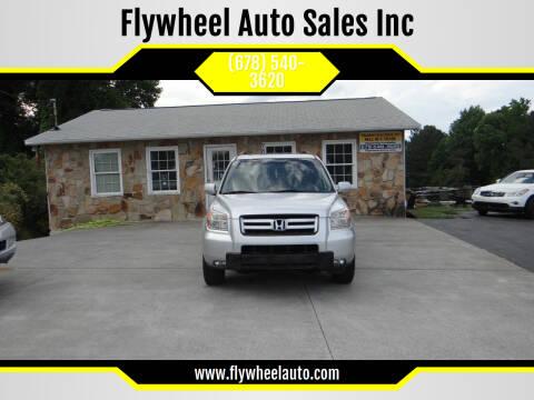 2008 Honda Pilot for sale at Flywheel Auto Sales Inc in Woodstock GA