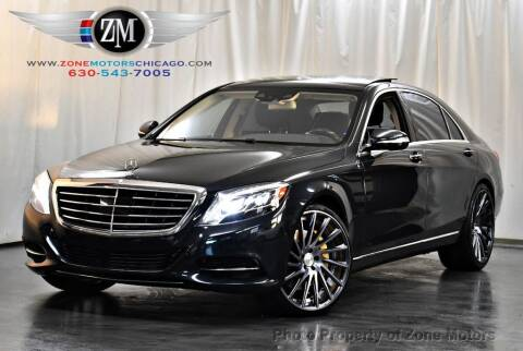2015 Mercedes-Benz S-Class for sale at ZONE MOTORS in Addison IL
