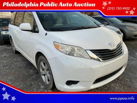 2011 Toyota Sienna for sale at Philadelphia Public Auto Auction in Philadelphia PA