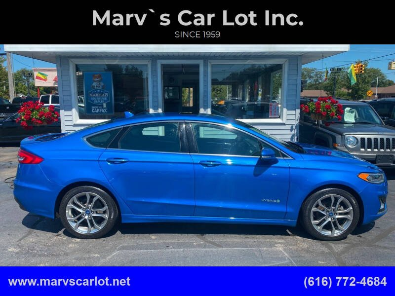 2019 Ford Fusion Hybrid for sale at Marv`s Car Lot Inc. in Zeeland MI