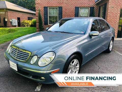 2006 Mercedes-Benz E-Class for sale at White Top Auto in Warrenton VA