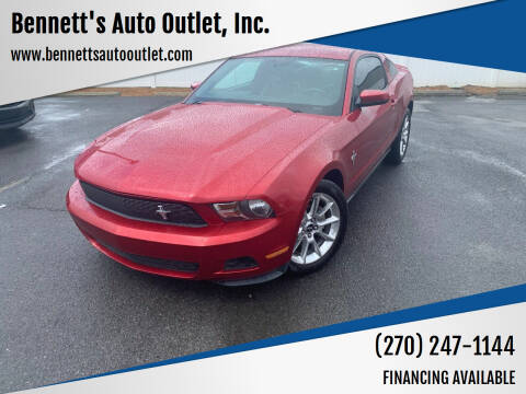 2010 Ford Mustang for sale at Bennett's Auto Outlet, Inc. in Mayfield KY