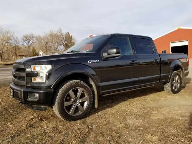 2015 Ford F-150 for sale at A & B Auto Sales in Ekalaka MT