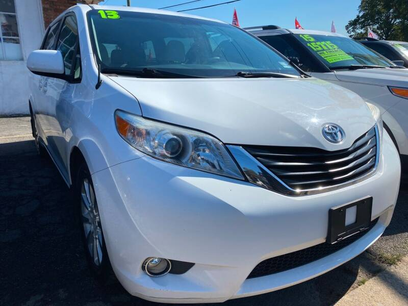 2013 Toyota Sienna for sale at GRAND USED CARS  INC in Little Ferry NJ