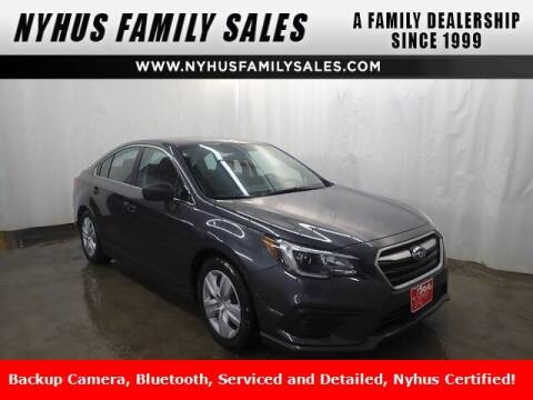 2018 Subaru Legacy for sale at Nyhus Family Sales in Perham MN