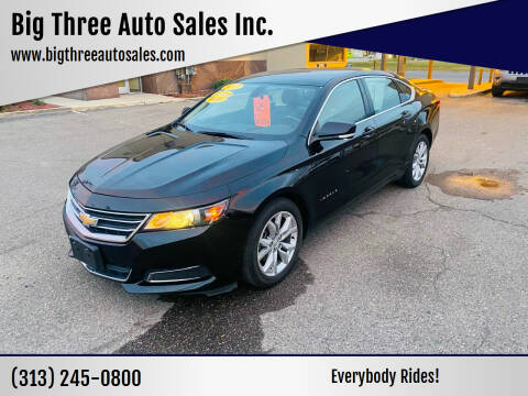 2017 Chevrolet Impala for sale at Big Three Auto Sales Inc. in Detroit MI