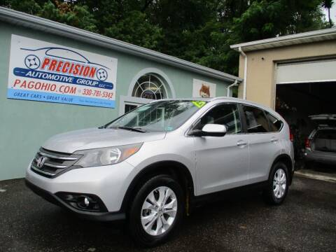 2013 Honda CR-V for sale at Precision Automotive Group in Youngstown OH