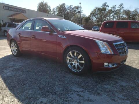 2008 Cadillac CTS for sale at Ron's Used Cars in Sumter SC