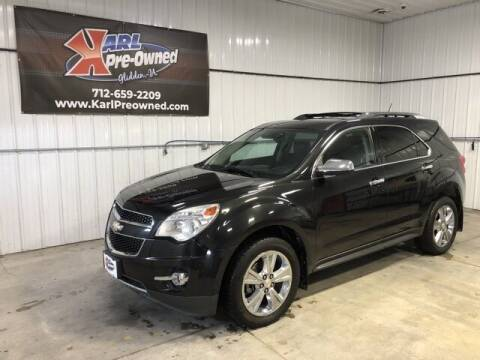 2014 Chevrolet Equinox for sale at Karl Pre-Owned in Glidden IA
