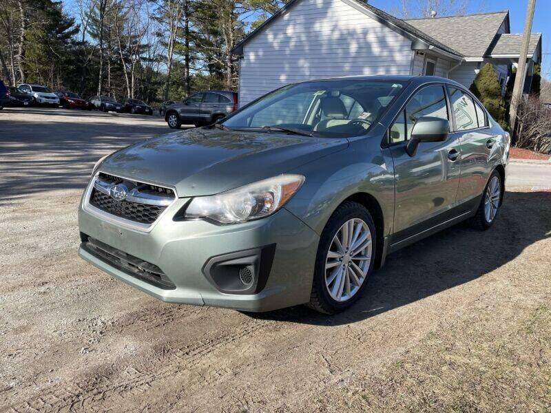 2014 Subaru Impreza for sale at Williston Economy Motors in Williston VT