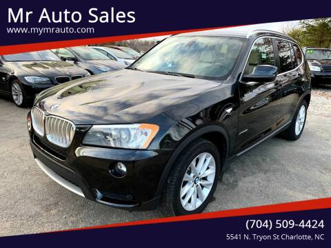 2012 BMW X3 for sale at Mr Auto Sales in Charlotte NC