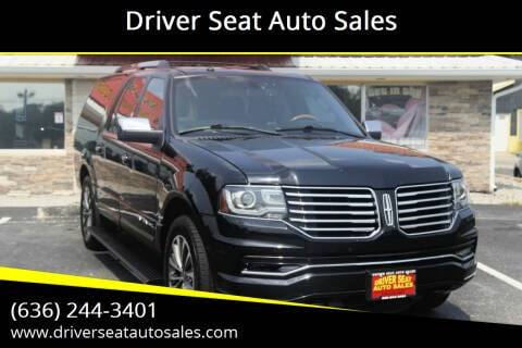 2016 Lincoln Navigator L for sale at Driver Seat Auto Sales in Saint Charles MO